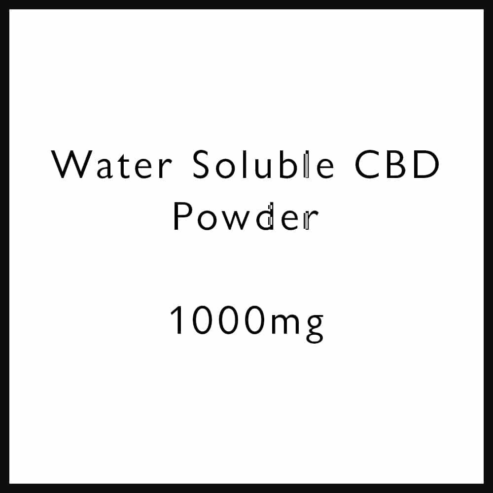 BULK WATER SOLUBLE CBD POWDER | Proper Hemp Co